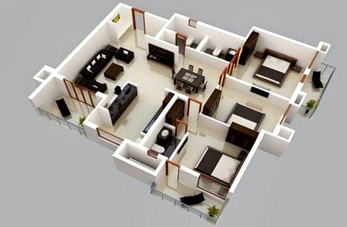 11 Desain Interior Rumah Tipe 36 Untuk Keluarga Minimalis