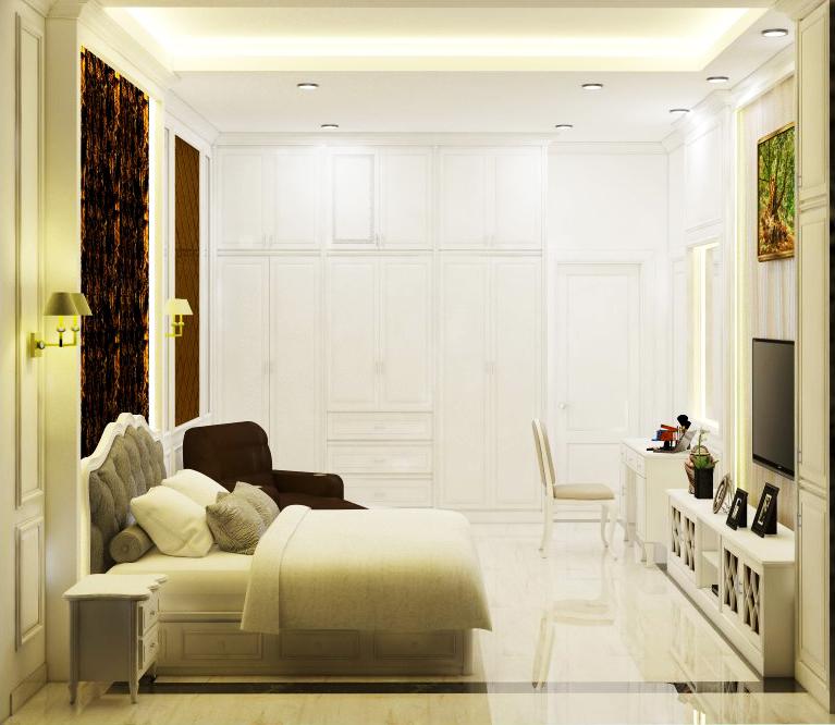 Rumah 4 Lantai, Green Garden
