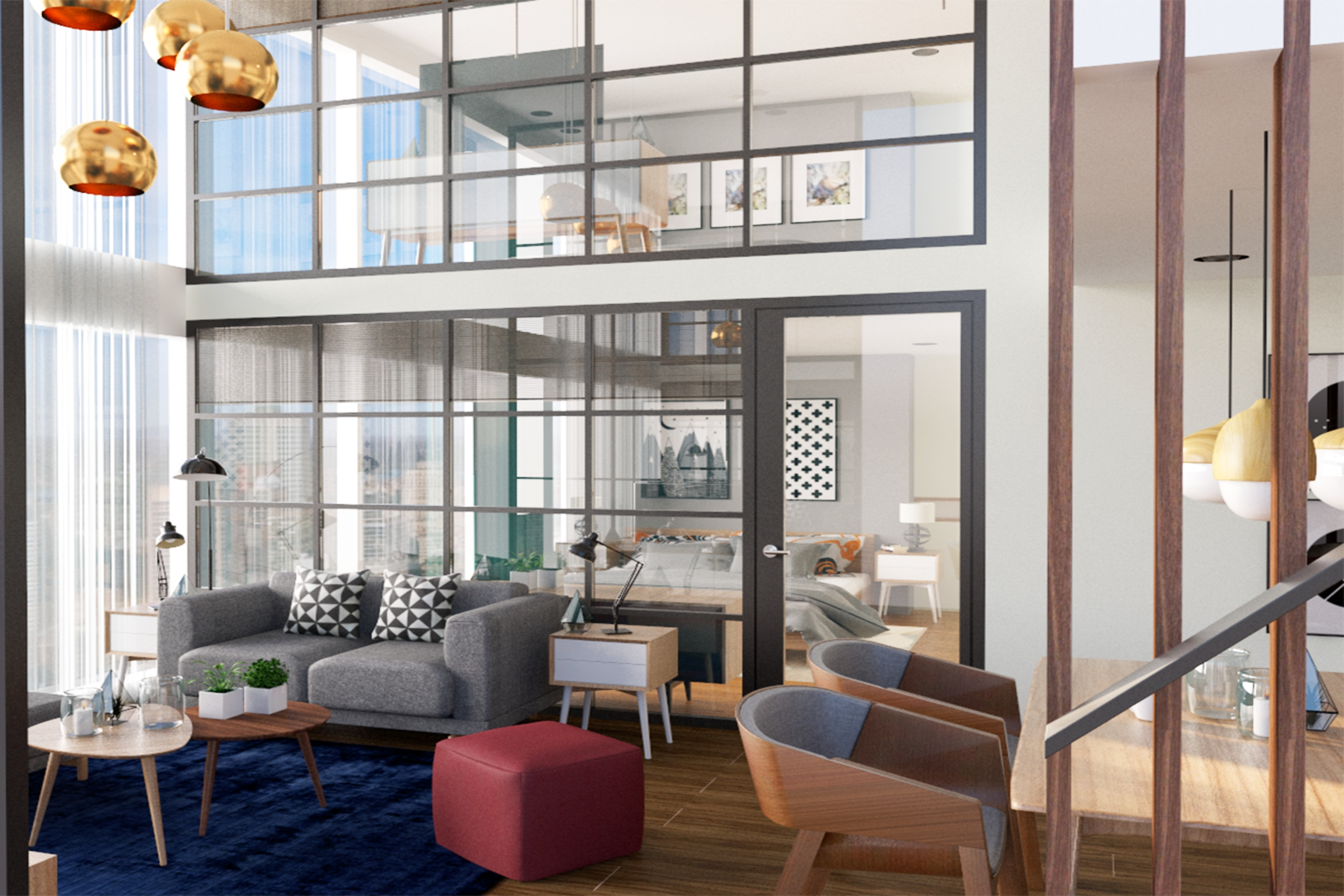 Apartement Terrace Diamond Tower, Jakarta (Proposal Design)