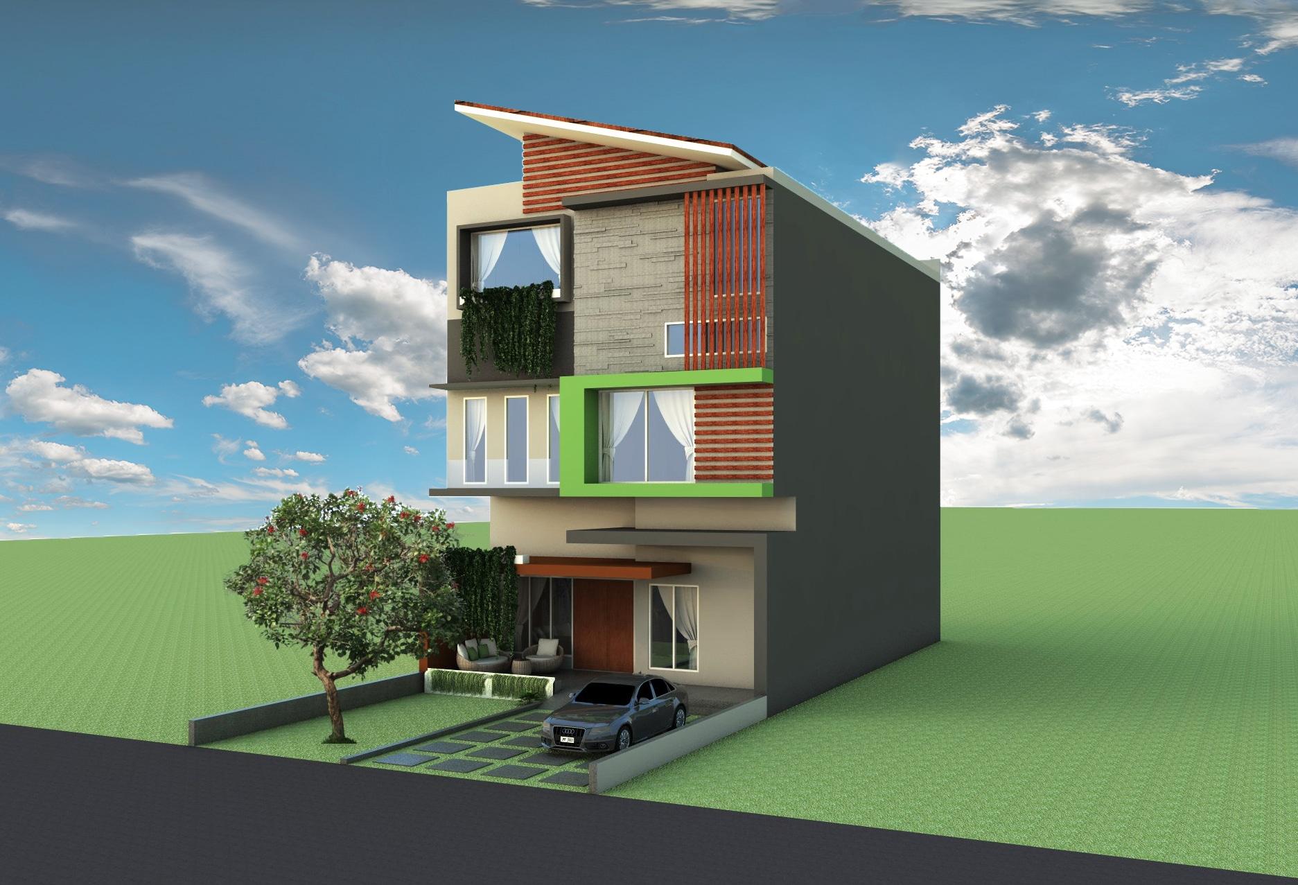 Rumah 3 Lantai BSD
