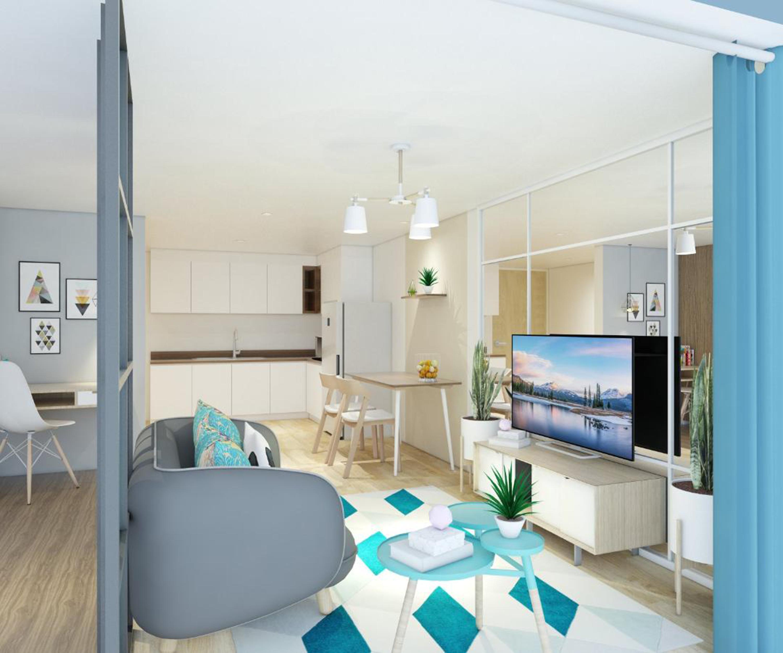 Apartement Terrace Diamond Tower